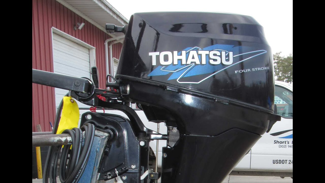 6m5h58 Used 2006 Tohatsu Mfs8a3 4 Stroke Electric Start