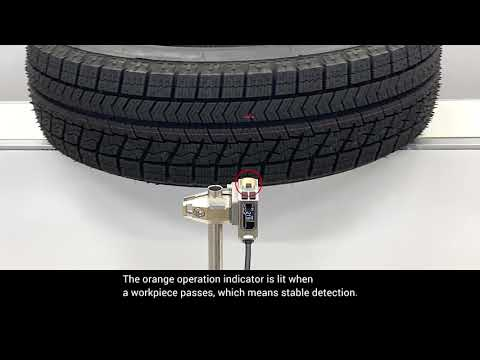 OMRON E3AS HL Tire Detection