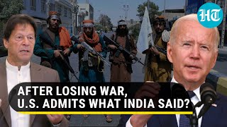 US to finally punish Pakistan? Biden's aide says ties under review over Islamabad's aid to Taliban
