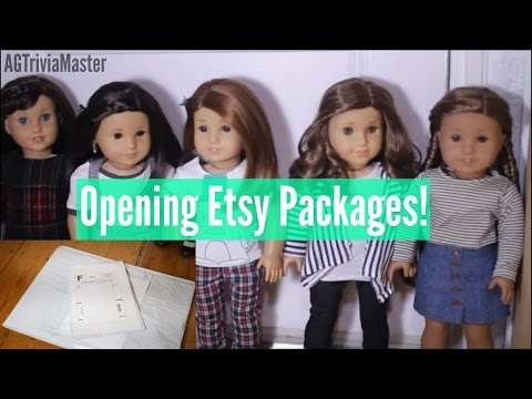 Opening Etsy Packages  AGTriviaMaster