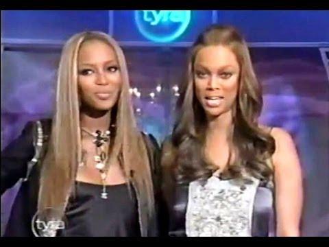 Tyra Banks s Naomi Campbell