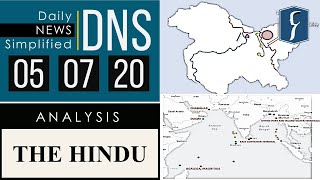 THE HINDU Analysis, 05 July 2020 (Daily News Analysis for UPSC) – DNS