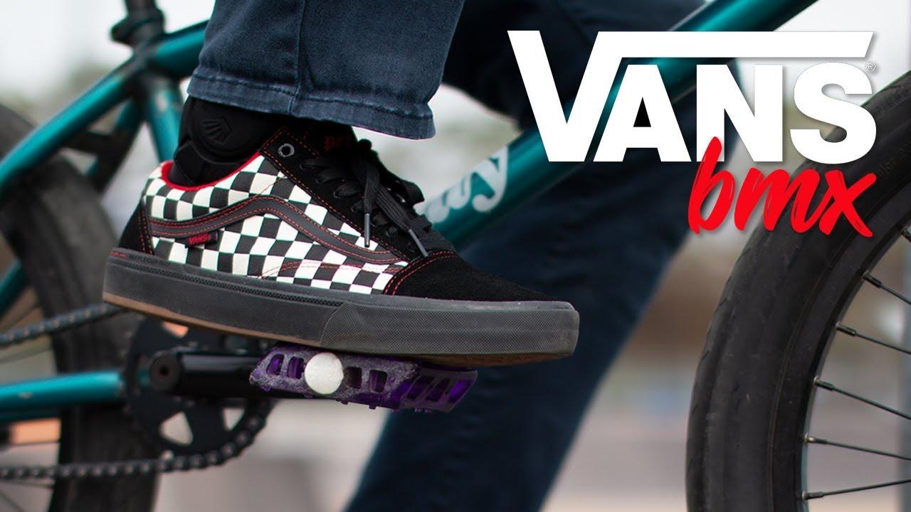 NEW VANS BMX SHOES! // Kevin Peraza