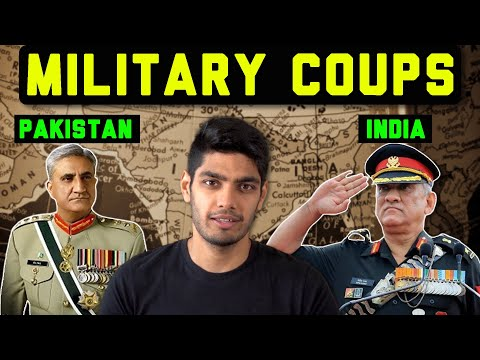 Pakistan has seen 3 successful military coups. India none. Why?