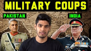 Pakistan has seen 3 military coups India none Why