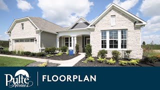 New Homes by Pulte Homes - Croix Floor Plan