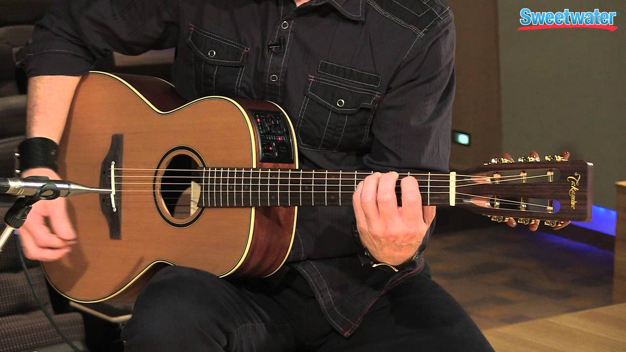 takamine p3ny new yorker acoustic electric guitar demo sweetwater sound youtube. Black Bedroom Furniture Sets. Home Design Ideas