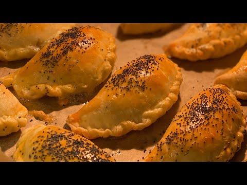 """Пошаговый рецепт """"Пирожков из рубленного теста""""#sevacookzone#рубленноетесто#пирожки"""