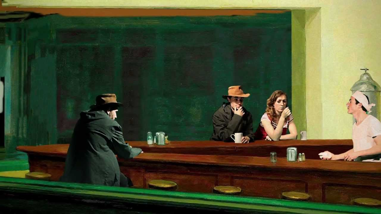 analysis of edward hoppers painting nighthawks Edward hopper's iconic painting nighthawks explained  the time hopper finished painting nighthawks,  of nighthawks was an excellent analysis and rich.