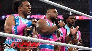 The New Day reveal that Booty-O's is the official cereal of WrestleMania 32: Raw, March 28, 2016