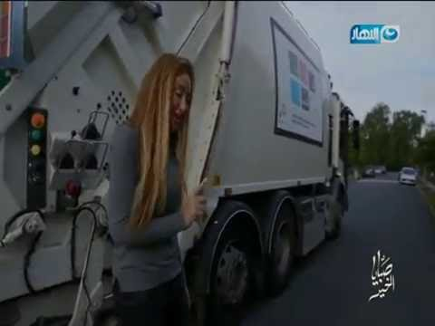 صبايا الخير   شاهد ريهام سعيد وهي عاملة نظافة
