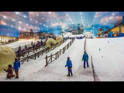 Ski ❄️☃️Dubai |Amazing Place to enjoy Snow In desert. You Can enjoy full day Show activities ❄️☃️