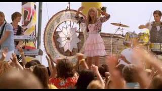 Hannah Montana The Movie - Let's Get Crazy(Hannah Montana (Miley Cyrus) performs Let's Get Crazy in Hannah Montana The Movie - in cinemas now!, 2009-06-05T16:14:13.000Z)