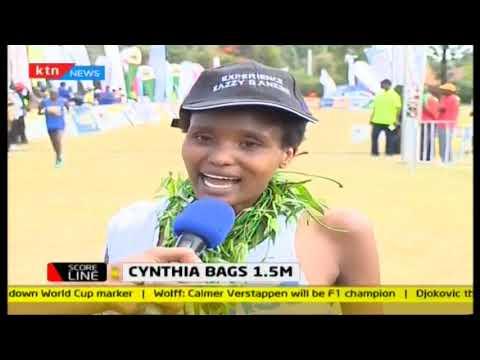 Jackson Kemboi, Cynthia Cherop bag Sh1.5M win 42KM | #KassMarathon2018