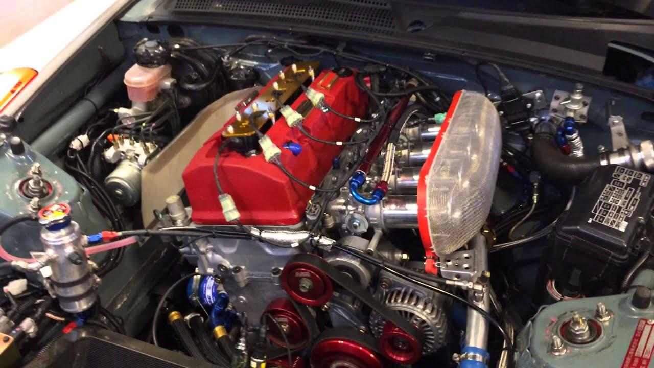 Asm S2000 Car No 1 Engine Rev Youtube