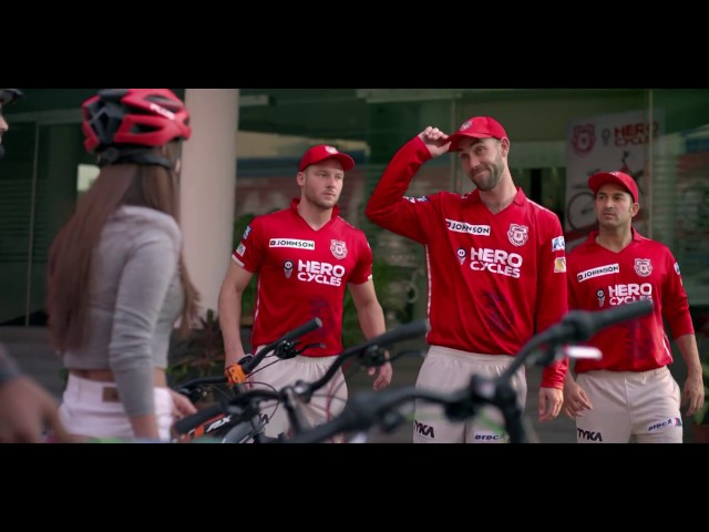 Hero Cycles Sprint RX Series with KXIP team
