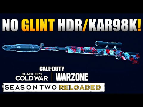 1.34 Update Broke MW Snipers: New No Glint Optics in Warzone | HDR/Kar98k Class Setup/Loadouts