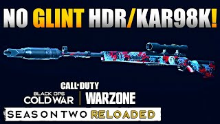 1.34 Update Broke MW Snipers: New No Glint Optics in Warzone | HDR/Kar98k Class Setup/Loadouts