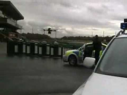 Merseyside Police's helicopter drone