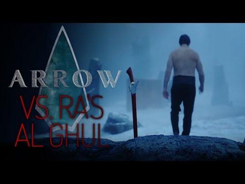 Arrow  vs. Ra's Al Ghul, First Fight
