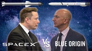 SpaceX vs Blue Origin: Comparing their Plans