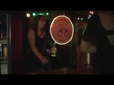 "At Karaoke Cops in St. John's, Newfoundland (Canada) - Dave does ""Ballroom Blitz"""