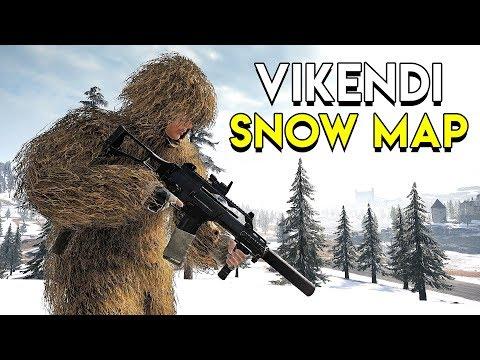 Vikendi Snow Map Gameplay - PUBG