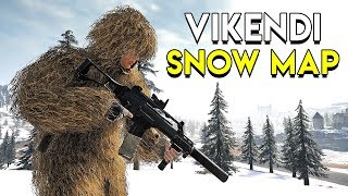 Vikendi Snow Map Gameplay - PUBG