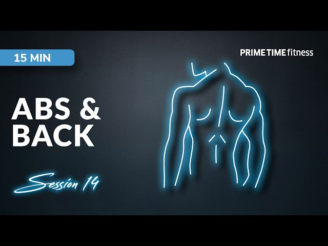 Abs & Back live Workout Session Vol.14