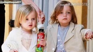 Knox and Vivienne Jolie-Pitt turn 8! (2016)