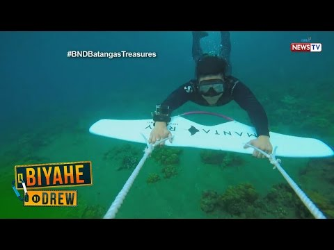 Biyahe ni Drew: Dive deep in Batangas (Full episode)