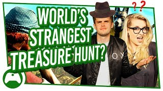 World's STRANGEST Treasure Hunt? Xbox On FUNNY MOMENTS