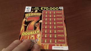 Scratchcards..Red Hot 7's Doubler....Vs..Triple Lucky 7's.....its all-in the Game