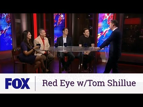 Shama Hyder on Red Eye w Tom Shillue