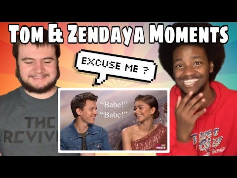 'Tom Holland And Zendaya Being A Married Couple For 4 Minuets And 12 Seconds' REACTION