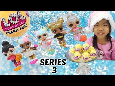 lol-surprise-series-3-charm-fizz-|-bath-bombs-toy-surprises-|-#collectlol