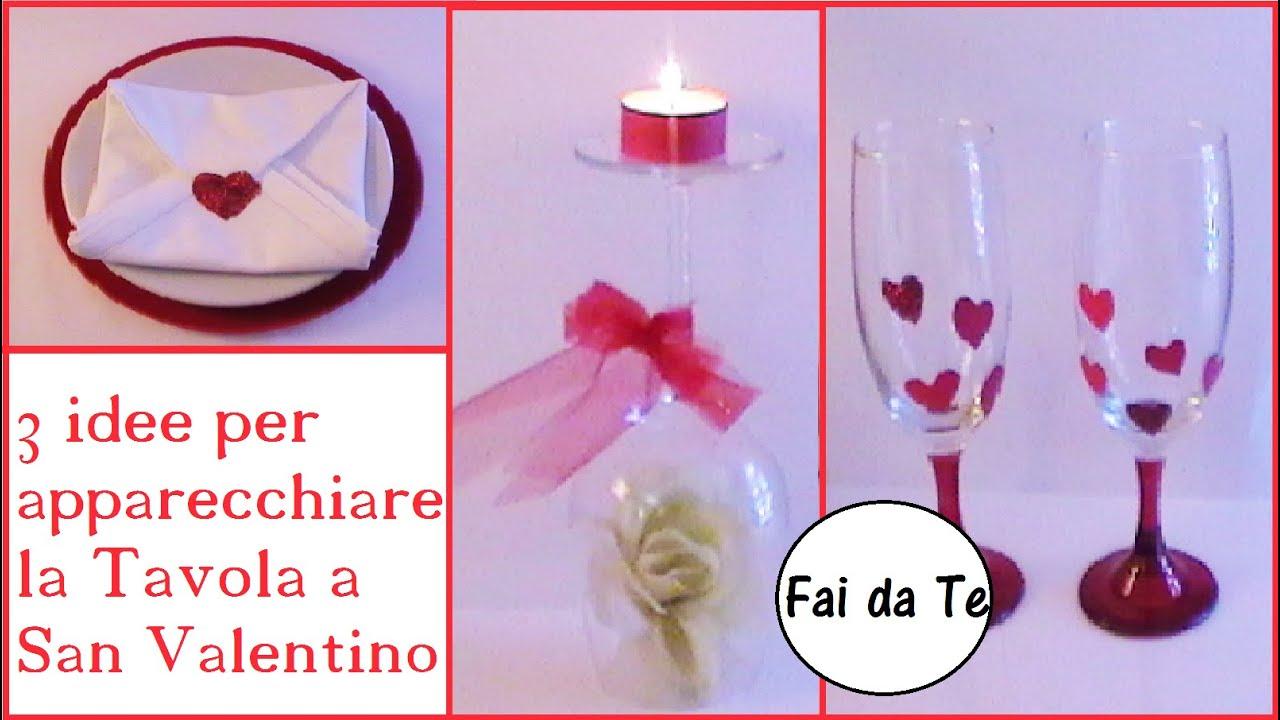 3 idee veloci per san valentino fai da te super economiche youtube - Idee tavola san valentino ...