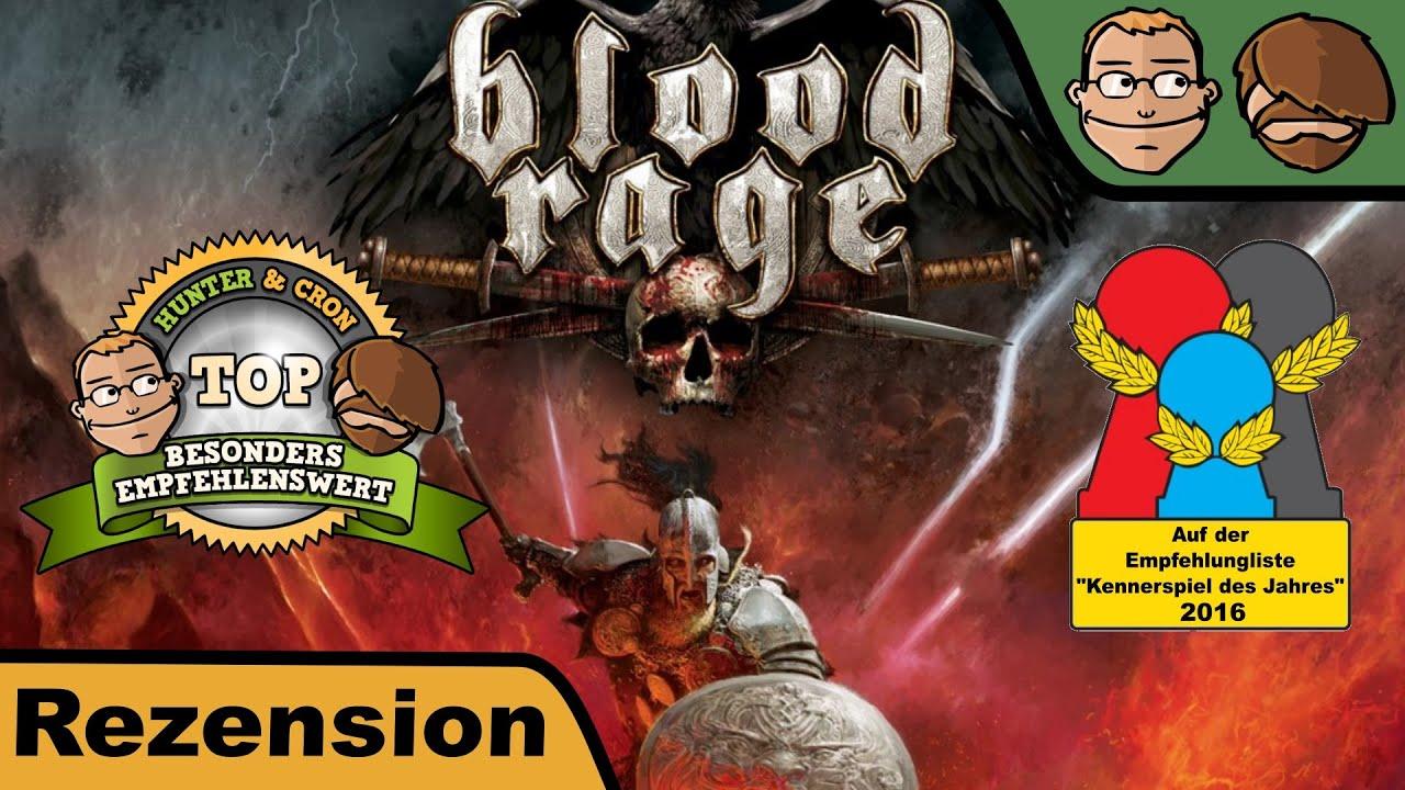 Blood Rage Brettspiel
