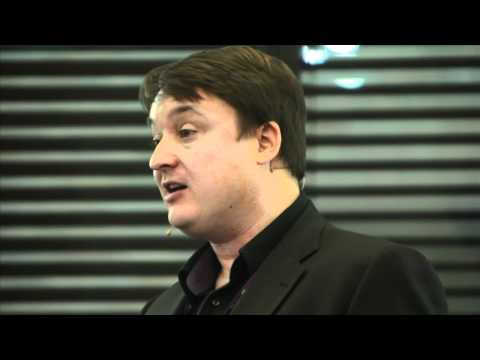 Clive Dickens at Absolute Radio's Redefining Radio event