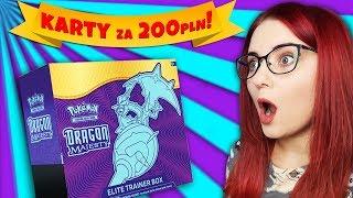 TRAFIŁAM KARTY ZA 200 pln! 💰 DRAGON MAJESTY Elite Trainer Box