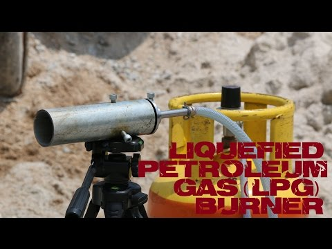 Liquefied Petroleum Gas (LPG) Burner - Pre Casting Unit #1