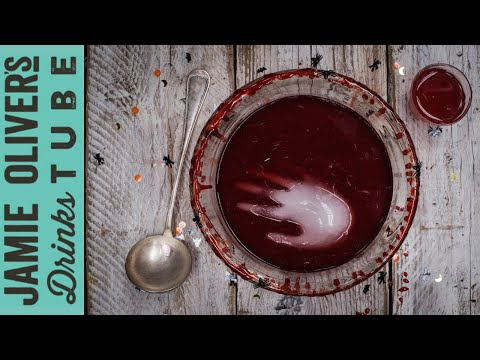 Hands Off My Cherry Limeade! Halloween Fruit Punch | Cook With Amber
