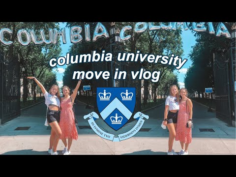 COLLEGE MOVE IN 2020 | Columbia University