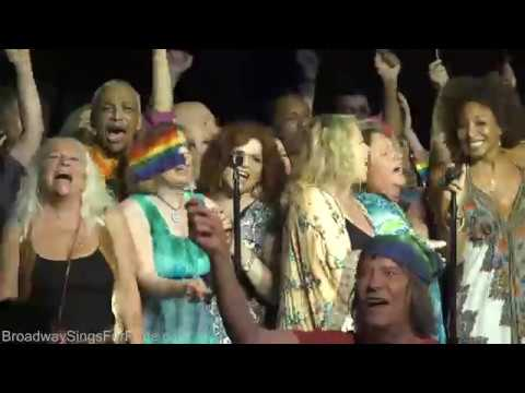 Broadway's HAIR 50th Anniversary Reunion - Broadway Sings for Pride