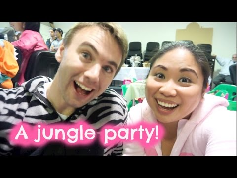 A jungle party!