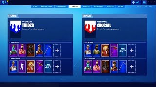 TRADING SYSTEM in Fortnite Battle Royale (Skin Trading Update)