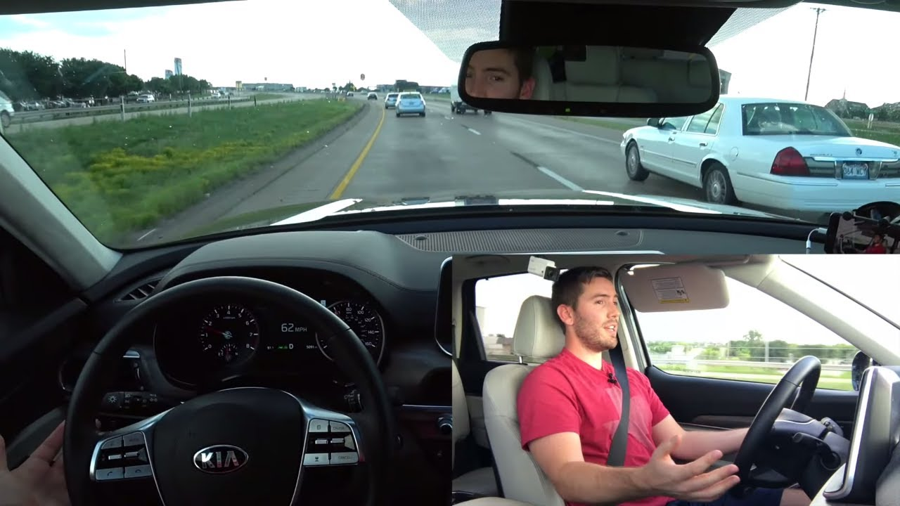 Best 360 Camera 2020 DEMO: 2020 Kia Telluride Driver Assist Features (Smart Cruise
