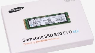 SSD Samsung 850 EVO M.2 500GB - Обзор и тестирование