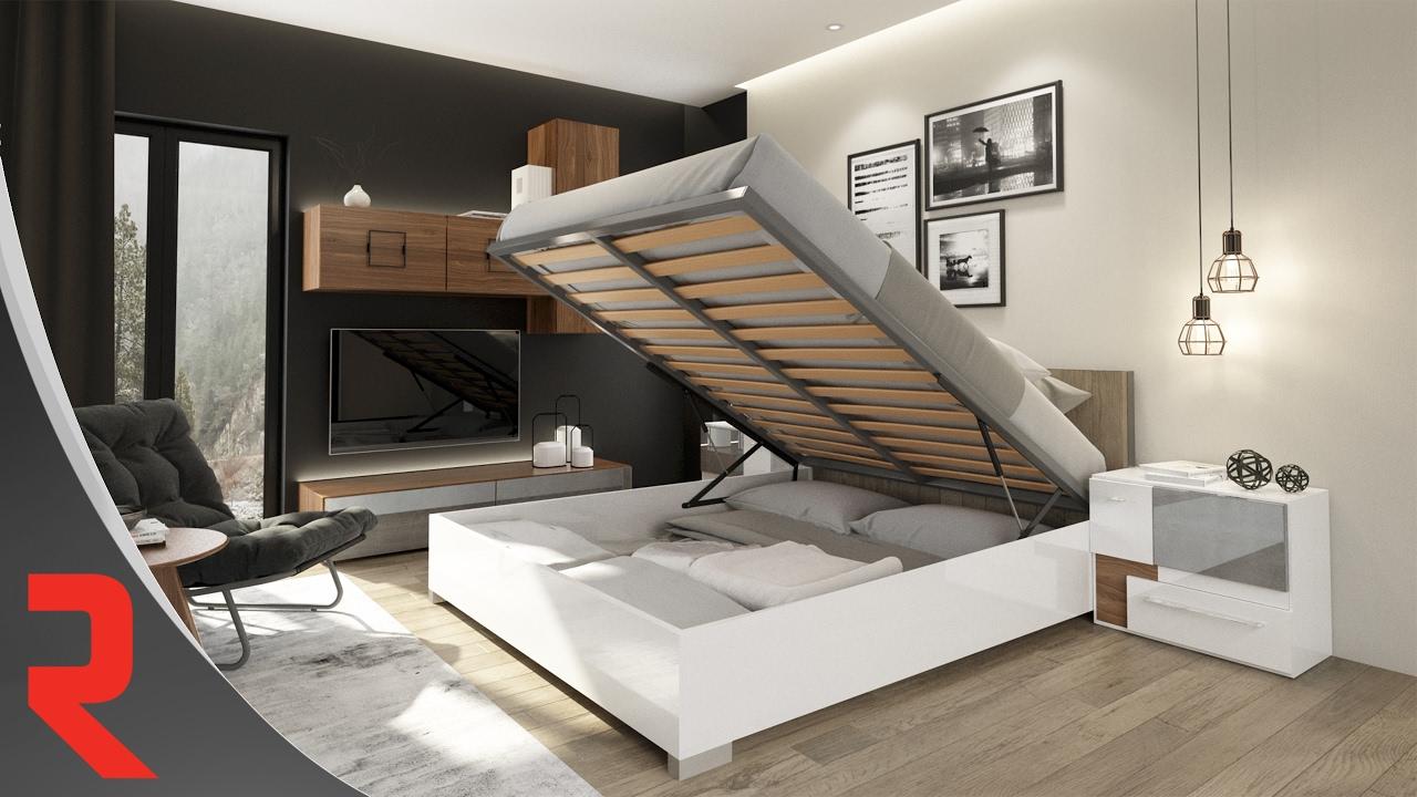 mecanisme de levage pour lits a rangement integre