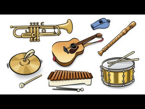English vocabulary  musical instruments